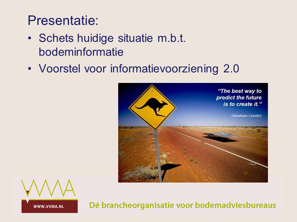 Presentatie: Schets huidige situatie m.b.t. bodeminformatie
