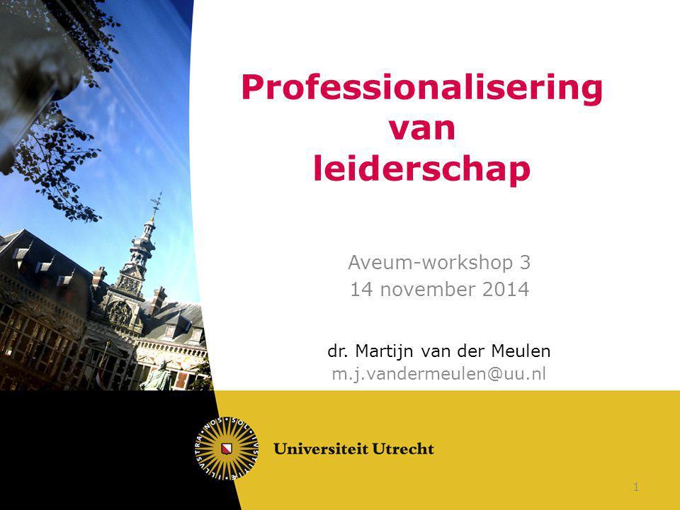 Professionalisering van leiderschap