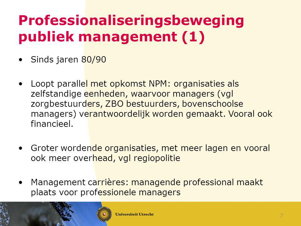 Professionaliseringsbeweging publiek management (1)