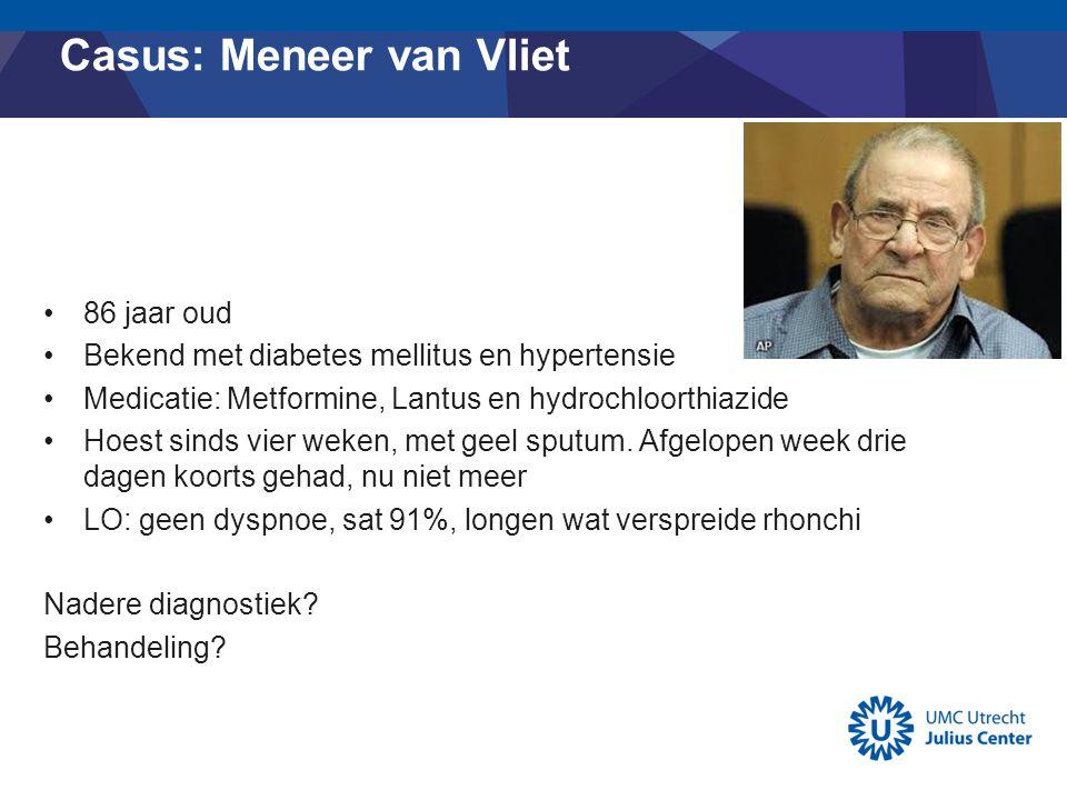 Casus: Meneer van Vliet