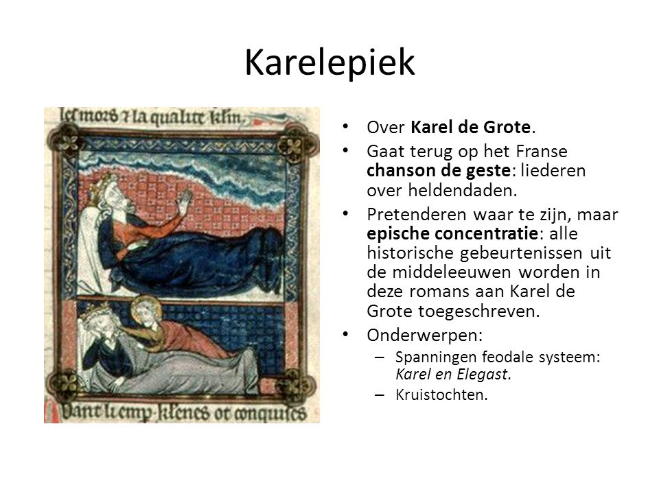 Karelepiek Over Karel de Grote.