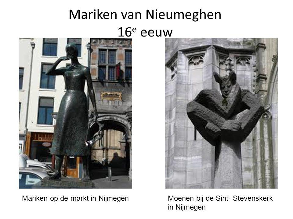 Mariken van Nieumeghen 16e eeuw