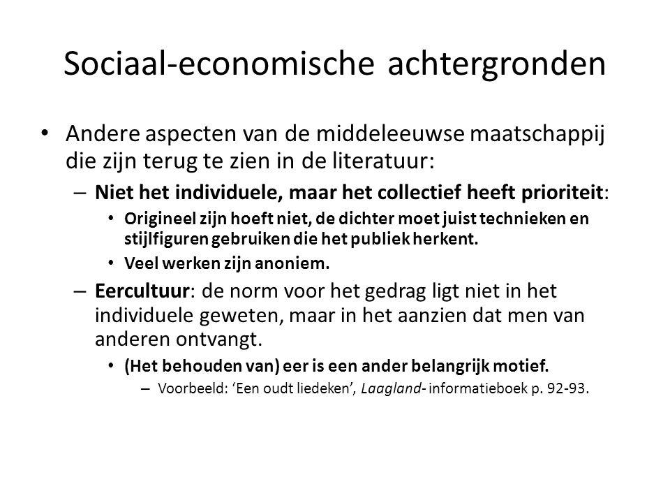 Sociaal-economische achtergronden