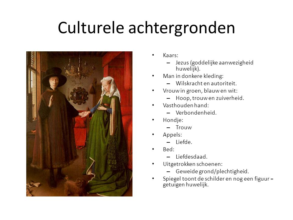 Culturele achtergronden