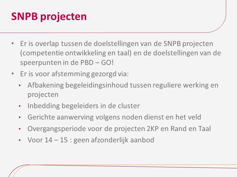 SNPB projecten