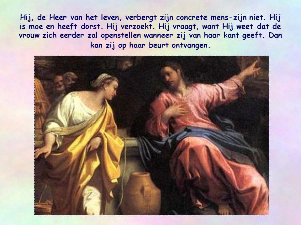 Hij, de Heer van het leven, verbergt zijn concrete mens-zijn niet