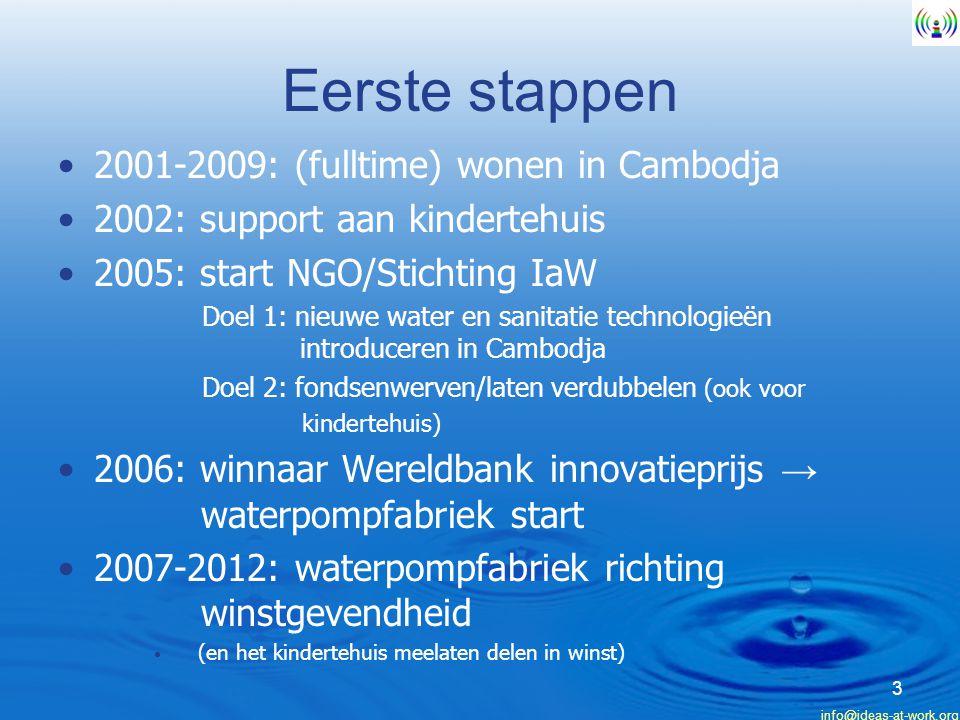 Eerste stappen 2001-2009: (fulltime) wonen in Cambodja