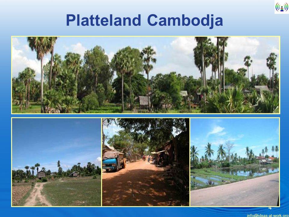 Platteland Cambodja