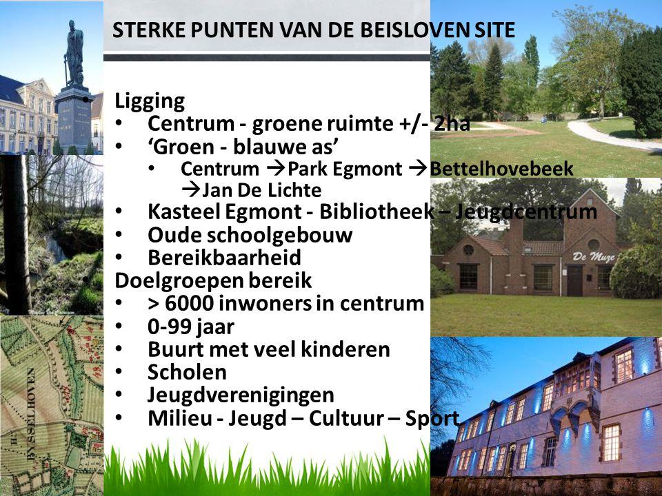 STERKE PUNTEN VAN DE BEISLOVEN SITE