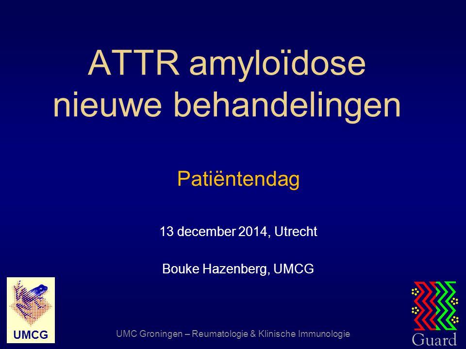 ATTR amyloïdose nieuwe behandelingen