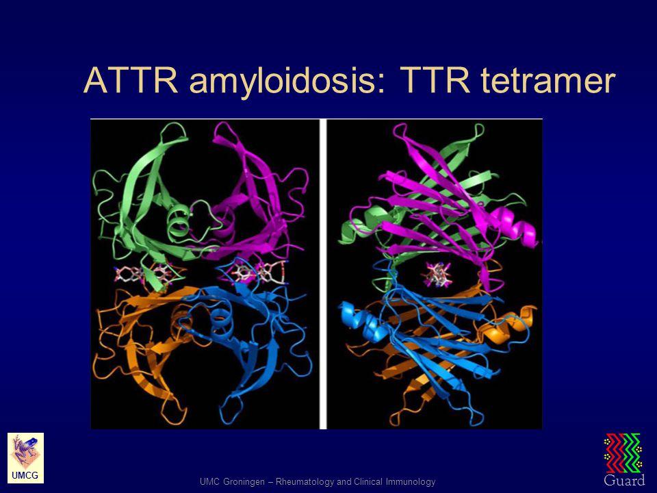 ATTR amyloidosis: TTR tetramer