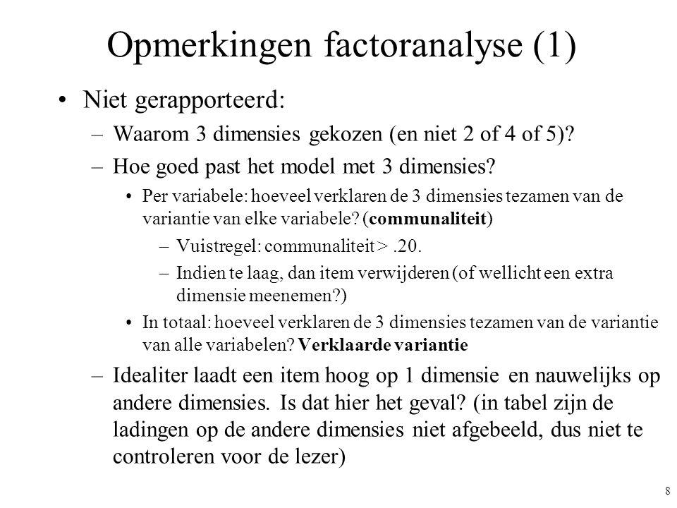 Opmerkingen factoranalyse (1)