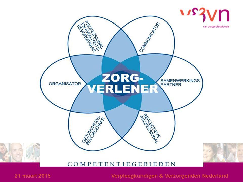 8 april 2017 Verpleegkundigen & Verzorgenden Nederland