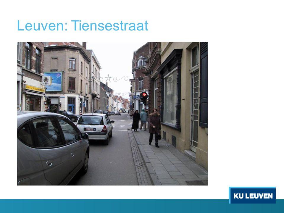 Leuven: Tiensestraat .
