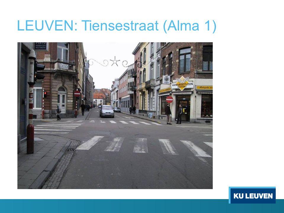 LEUVEN: Tiensestraat (Alma 1)