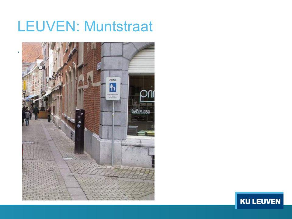 LEUVEN: Muntstraat .