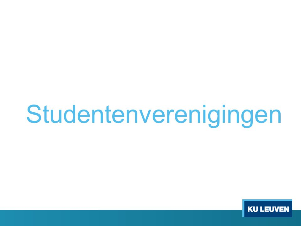 Studentenverenigingen