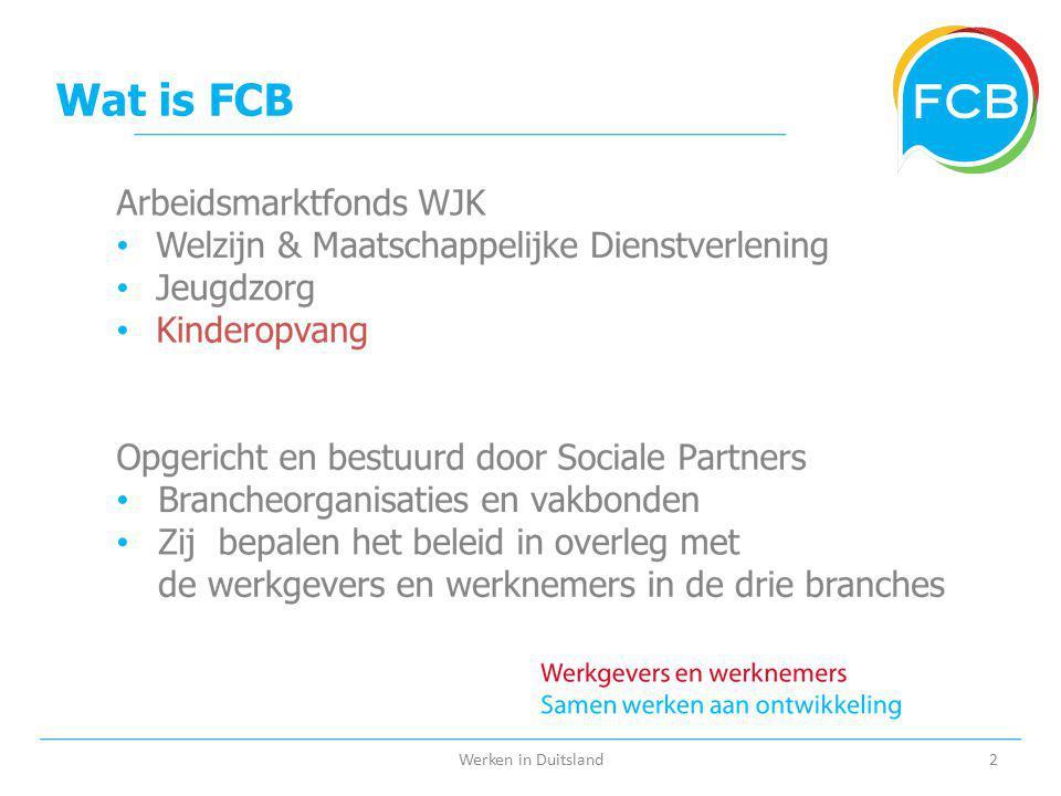 Wat is FCB Werken in Duitsland