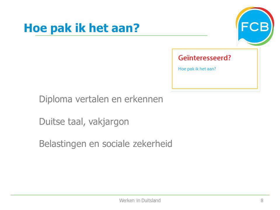 Hoe pak ik het aan Diploma vertalen en erkennen