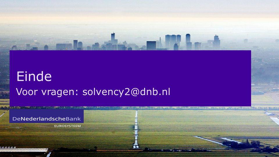 Voor vragen: solvency2@dnb.nl