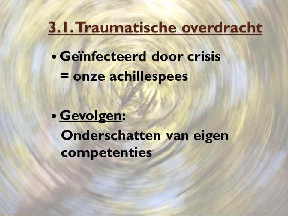 3.1. Traumatische overdracht