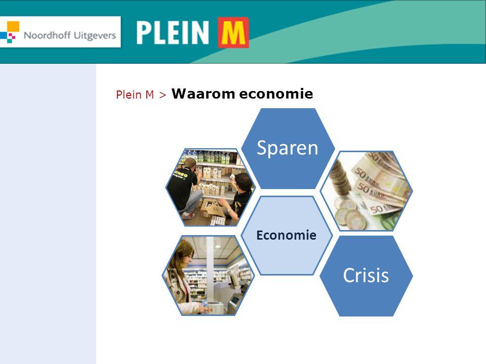 Sparen Crisis Economie Plein M > Waarom economie