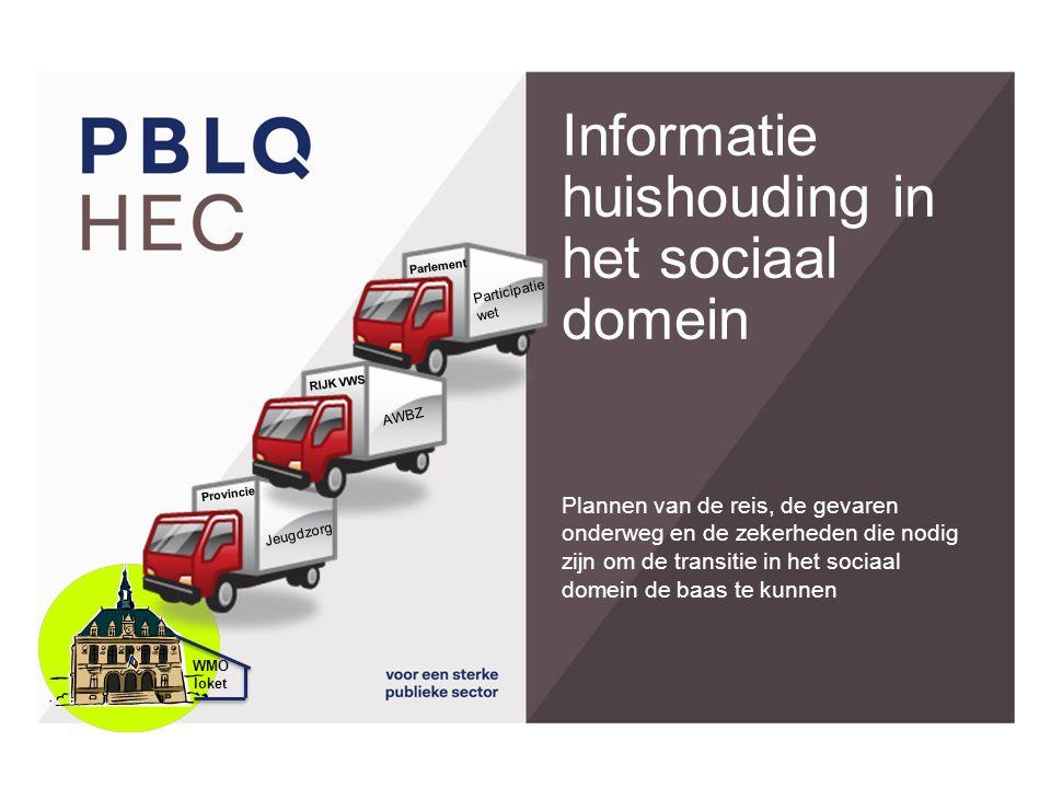 Informatie huishouding in het sociaal domein