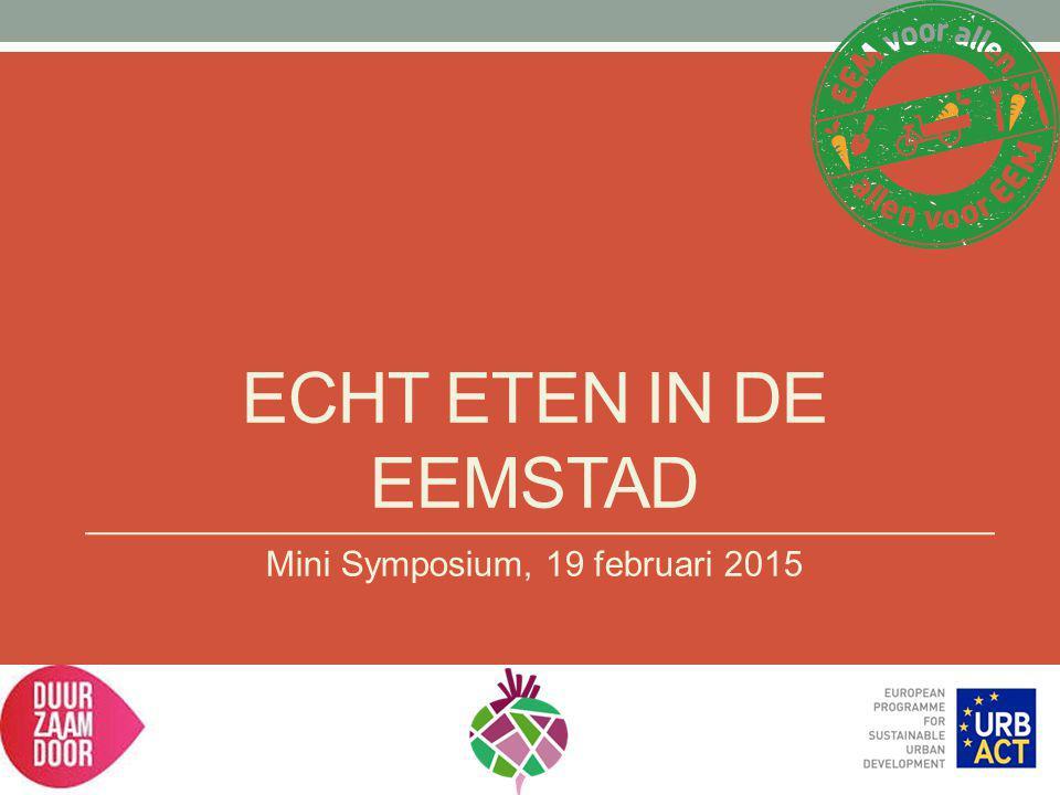 Mini Symposium, 19 februari 2015