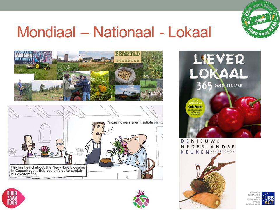 Mondiaal – Nationaal - Lokaal