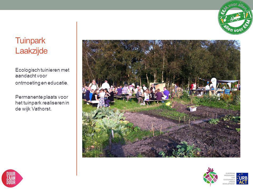 Tuinpark Laakzijde Ecologisch tuinieren met aandacht voor