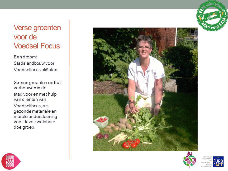 Verse groenten voor de Voedsel Focus