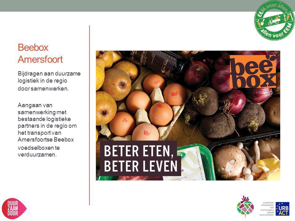Beebox Amersfoort Bijdragen aan duurzame logistiek in de regio