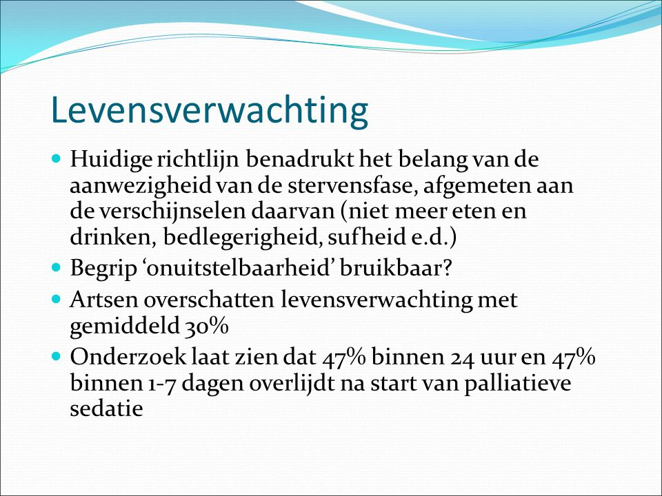 Levensverwachting