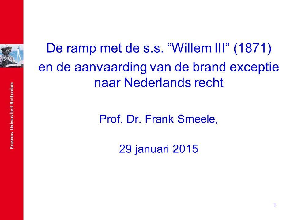 De ramp met de s.s. Willem III (1871)