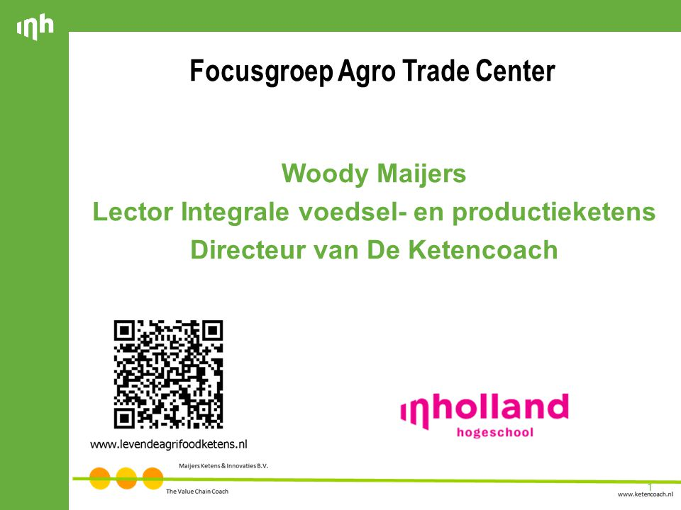 Focusgroep Agro Trade Center