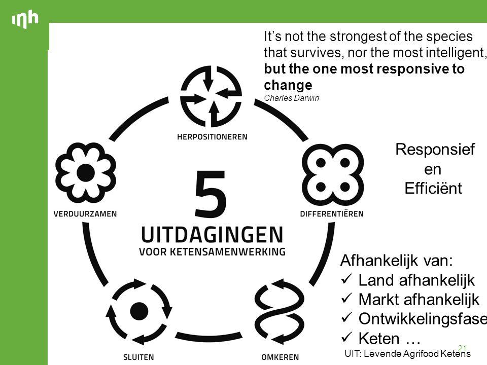 Responsief en Efficiënt Afhankelijk van: Land afhankelijk