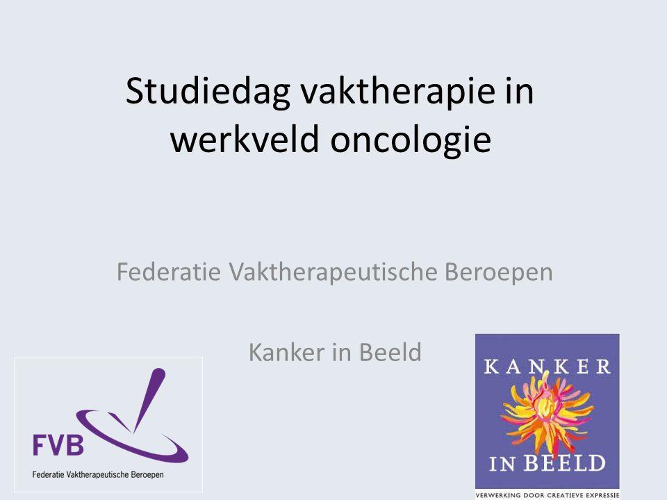 Studiedag vaktherapie in werkveld oncologie