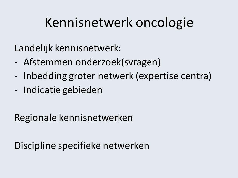 Kennisnetwerk oncologie