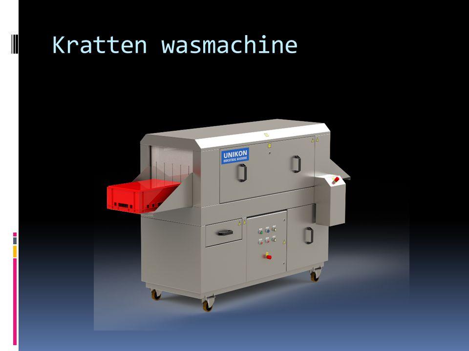 Kratten wasmachine