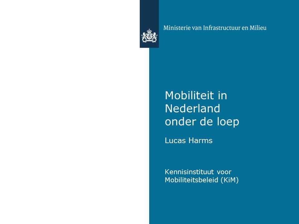 Mobiliteit in Nederland onder de loep