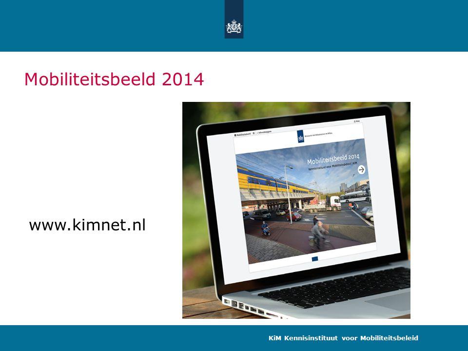 Mobiliteitsbeeld 2014 www.kimnet.nl