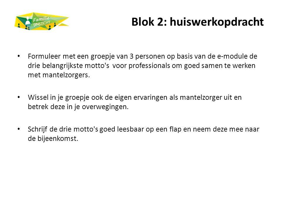 Blok 2: huiswerkopdracht