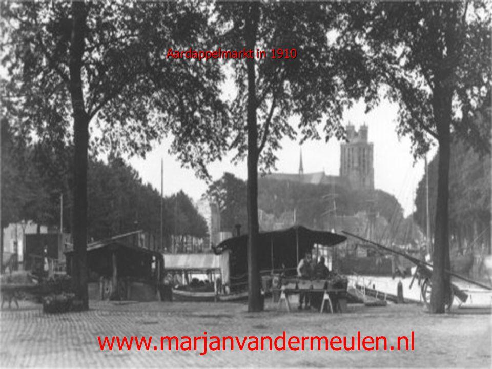 Aardappelmarkt in 1910 www.marjanvandermeulen.nl