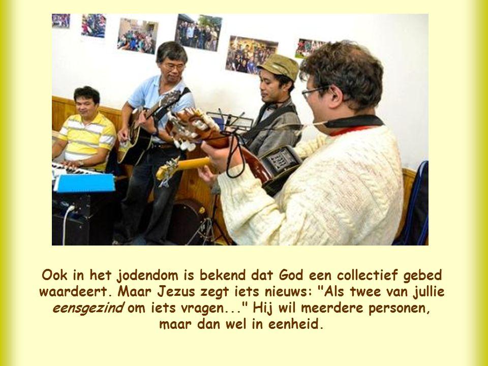 Ook in het jodendom is bekend dat God een collectief gebed waardeert