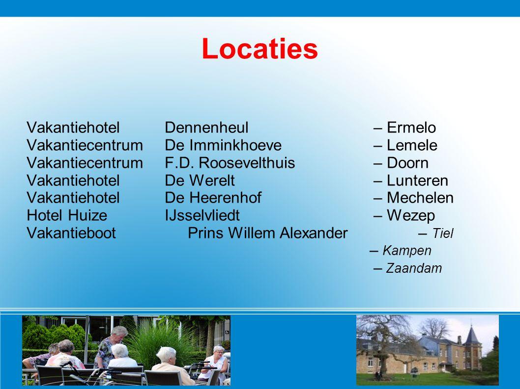 Locaties Vakantiehotel Dennenheul – Ermelo