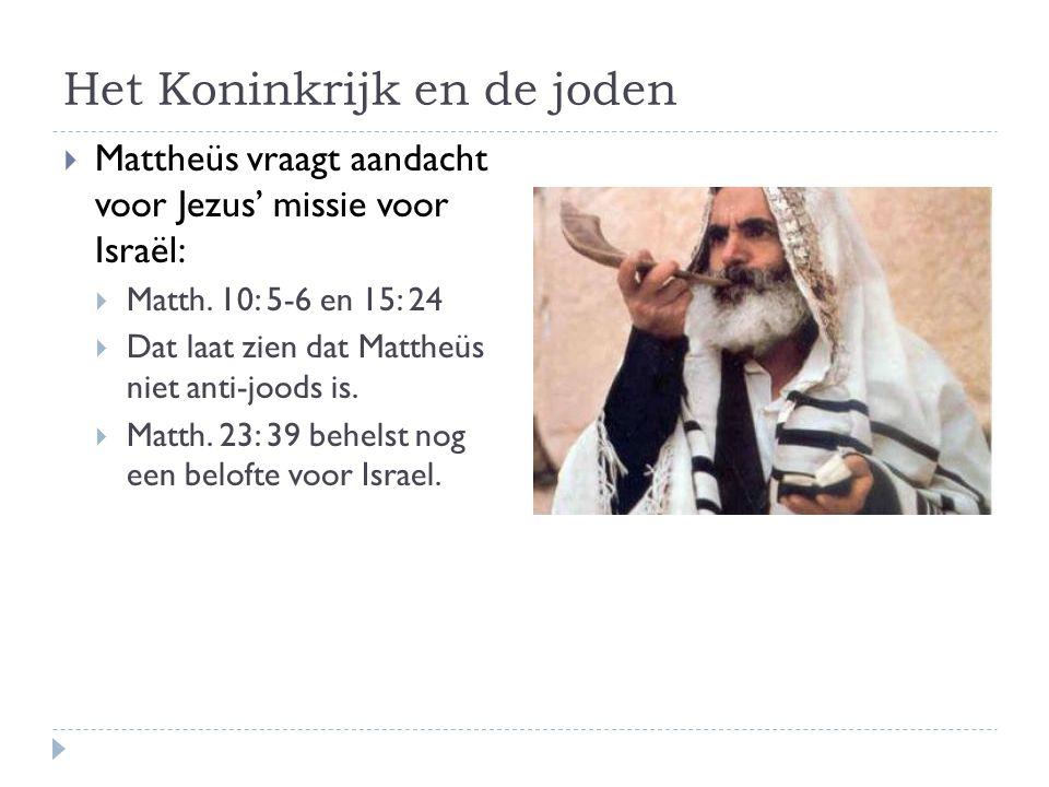 Het Koninkrijk en de joden