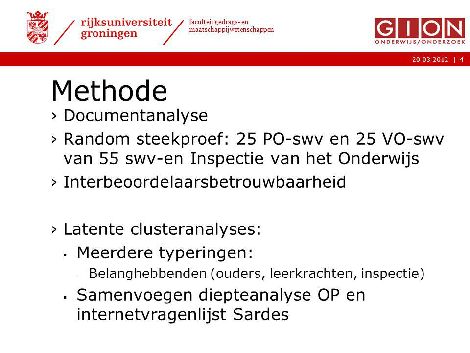 Methode Documentanalyse