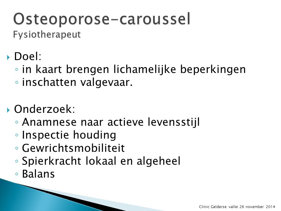 Osteoporose-caroussel Fysiotherapeut