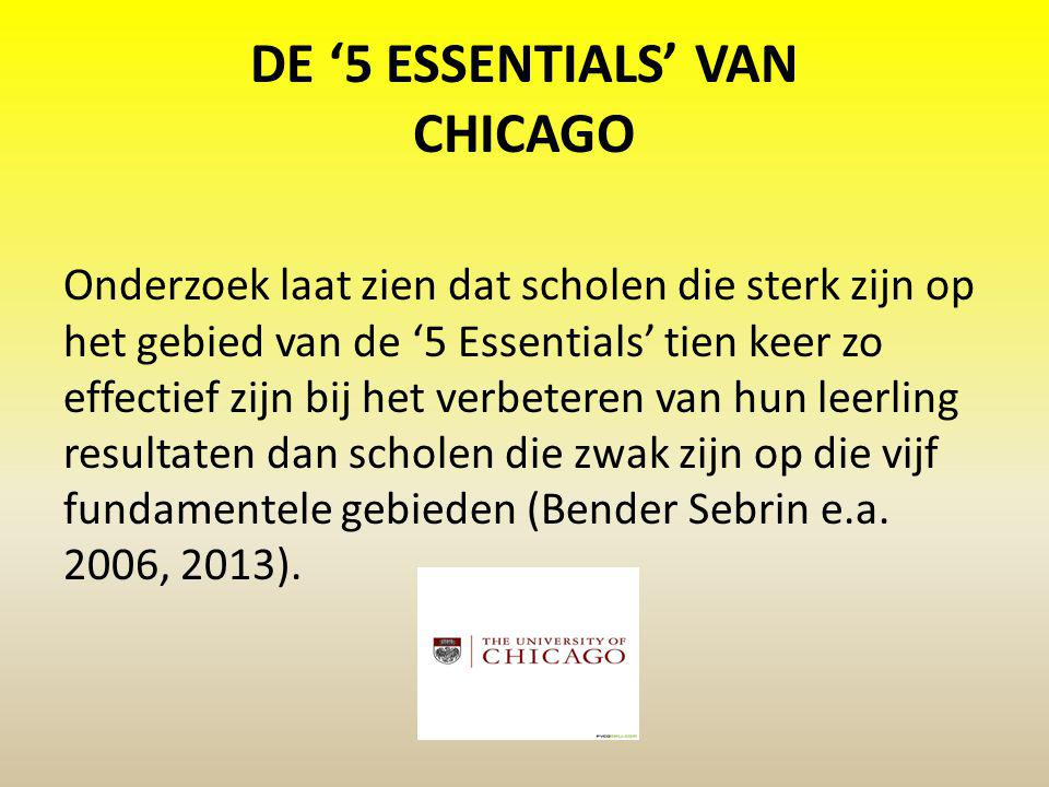 DE '5 ESSENTIALS' VAN CHICAGO