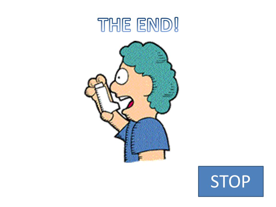 THE END! STOP